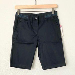 *NEW* IZOD Junior's Twill Skinny Bermuda Shorts